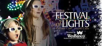 Wheeling Festival Of Lights Winter Festival Of Lights Oglebay Oglebay