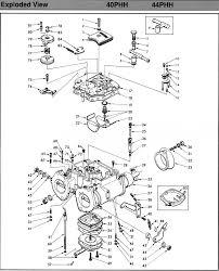 Mikuni Emulsion Tube Chart Mikuni 40 Phh 44 Phh 50 Phh Performance Carburetor