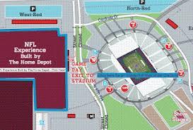 Gis Sites Super Bowl Xlii Interactive Map