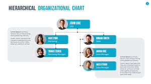 Organization Chart Template Ppt Organizational Chart And Hierarchy Powerpoint Presentation Template