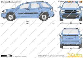 The-Blueprints.com - Vector Drawing - Chevrolet Equinox