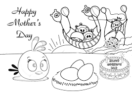 Free Mothers Day Coloring Pages Cards L L L L L L L L L L