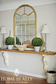 Console Decor Ideas Best 25 Foyer Table Decor Ideas On Pinterest Console Table