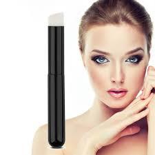 5 pcs set black wooden handle white nylon makeup brush powder foundation nose shadow brushes sets contour makeup tools