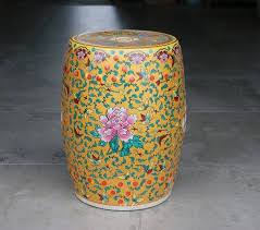 chinese porcelain dresser stool ls 26