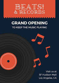 Grand Opening Flyer New Customize 48 Grand Opening Flyer Templates Online Canva