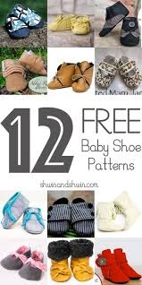 Free Baby Shoe Pattern Unique Decorating Design