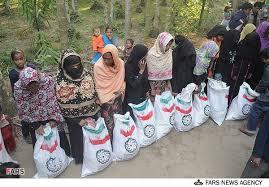 Image result for فراخوان دوم هلال احمر برای جمعآوری کمکهای مردمی به آوارگان میانمار