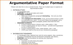 how to create an outline for argumentative paper sample  11 how to write an argument essay outline checklist template for argumentative essa f outline format