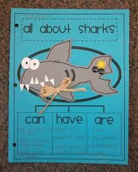 Can Have Are Sharks Teaching Writing Ocean Habitat