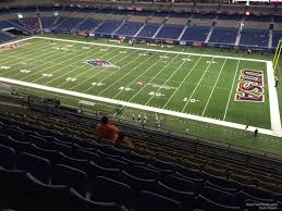 Alamodome Ncaa Basketball Seating Chart Alamodome Section 309 Utsa Football Rateyourseats Com