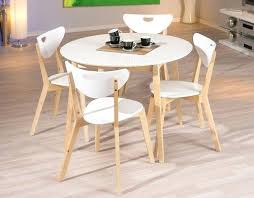 Table De Cuisine Ronde Blanche Ikea Sakadanse