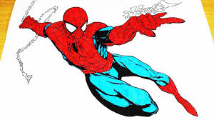 Spiderman in the city coloring pages, coloring painting spiderman on the roof of new york. Coloring Pages Spiderman Coloring Videos Spiderman Coloring Book 2018 Spiderman Videos Youtube