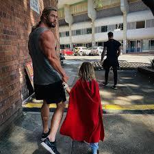 Elsa Pataky + Chris Hemsworth: Süß, süßer, Familie Hemsworth