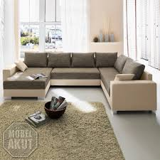 Wohnlandschaft Braun Beige Air Media Design