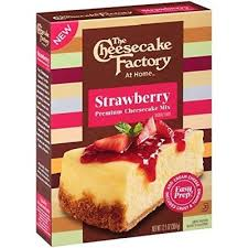 cheesecake factory strawberry premium cheesecake mix