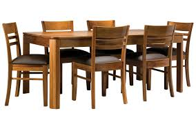 bronte 180cm dining tablein blackwood