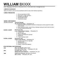 Stunning Barber Resume Example Contemporary - Simple resume Office .