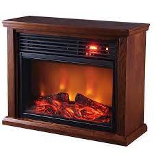 1500 watt patented heat exchanger large room infrared fireplace heater with remote dark oak
