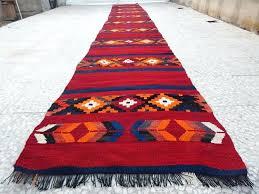 extra long hallway runners foot vintage extra long handmade wool hall corridor rug runner