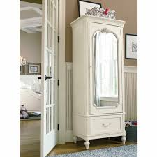 white armoire wardrobe bedroom furniture. Armoire With Drawers Wardrobe Storage Shelves Mirrored Closet White Bedroom Furniture