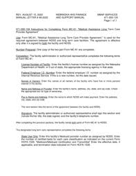Fillable Online Dhhs Ne August 15 2002 Manual Letter 49 2002
