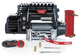 warn powerplant dual force winch air compressor power plant