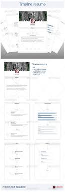 Timeline Resume V10 By Zacomic Include Adobe Illustrator Cc Cs