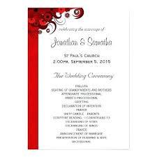 Free Printable Wedding Ceremony Programs Free Printable Wedding Programs Templates Program Guestbook Sign And