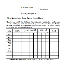 Hours Sheet Template Numbers Timesheet Template 17 Free Sample Example Format