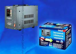 <b>Стабилизатор</b> 500 ВА <b>Uniel RS</b>-<b>1</b>/<b>500LS</b>