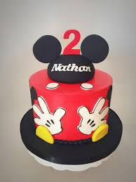 Mickey Mouse Cake Le Dolci