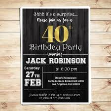 free printable surprise party invitation templates surprise th birthday party invitations for him men th contemporary art free printable 40th birthday party