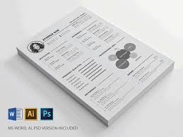 free resume template indesign word photoshop psd where are resume templates in word