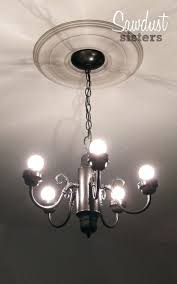 diy chandelier crystal chandelier makeovers simple chandelier makeover easy ideas for old brass crystal diy chandelier