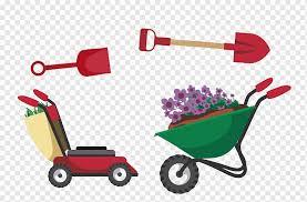 garden tool cartoon gardening cartoon