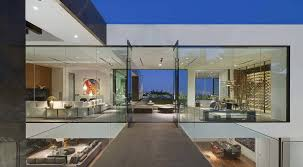 view modern house lights. This Sprawling Modern Home Showcasing Jaw-dropping Views Was Designed By McClean Design, Located On An Exclusive Street In West Hollywood, California. View House Lights