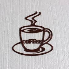 coffee cup with coffee word metal wall art home kitchen decor on coffee kitchen metal wall art with best kitchen metal wall art products on wanelo