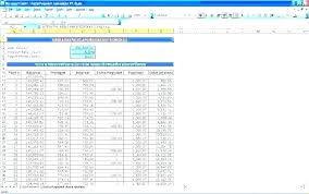 Excel Payment Schedule Interest Only Loan Calculator L Home Formula