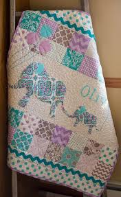 Personalized Modern Handmade Baby Quilt for Sale Custom & Like this item? Adamdwight.com