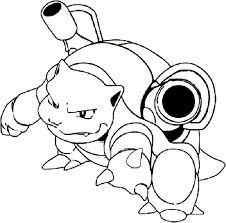 Small Picture Download Pokemon Coloring Pages Blastoise