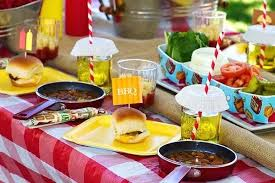 backyard bbq decor ideas table settings and decoration ideas to inspire you  backyard bbq party decorating