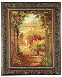 276 best home decor wall canvas wall framed art prints wall regarding framed tuscan wall art