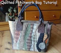 Patchwork bag, pattern - quilt. Стеганая сумка ~ DIY Tutorial Ideas! & Patchwork Sewing Projects, Bags Patterns, Quilts, Bags Sewing Patterns.  Шьем осеннюю сумку Adamdwight.com