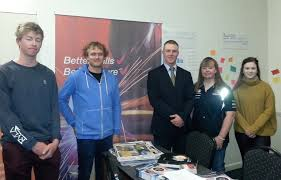 out and about geoff brock mp representing tradeschools of the future