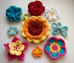 Free Crochet Flower Patterns Impressive 48 Beautiful And Free Crochet Flower Patterns