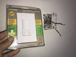 Installing Motion Light Switch Motion Sensor Light Switch Install Cabin Diy