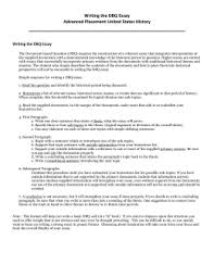 tears of a tiger essay assignment writing the dbq essay
