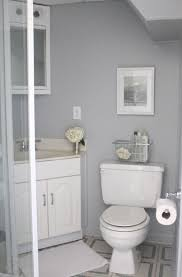 small bathroom sink vanity. Small Bathroom Remodels In Gray Theme With Corner Walk Shower And White Sink Vanity Combined Tiles