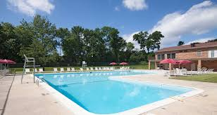 Pool Side Relaxing Area At Cromwell Valley Apartments, Towson, Maryland